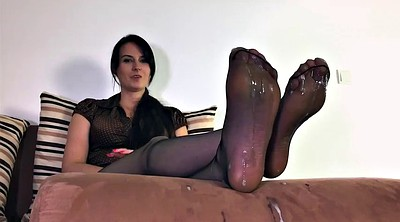 Foot, Nylon, Nylon feet, Nylon foot, Polish, Mothers
