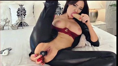 Foot, Latex dildo, Latex fetish
