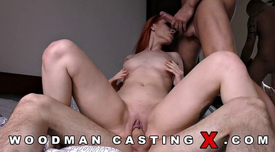 Casting anal, Casting threesome, Threesome casting, Redhead threesome, Redhead anal