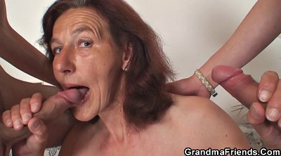 Mature boy, Granny boy, Old woman, Mature and young boy, Woman and boy, Mature threesome