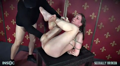 Mistress, Strapon, Lesbian bdsm, Rope, Roped