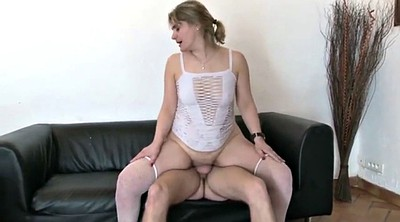 French milf, Fist anal