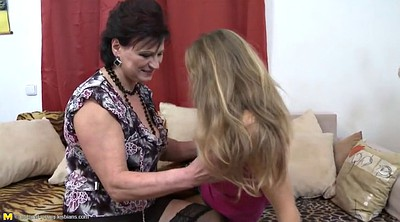 Busty, Old couple, Lesbo mature, Lesbian moms, Young daughter, Old granny