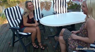 Daughter, Mother daughter, Mothers, German threesome, Young daughter, Daughter fuck