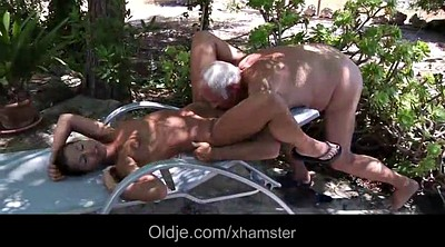 Caught, Seduce anal, Old granny anal