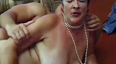 Bbw granny, Riped, Young pussy, Ripe