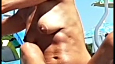 Italian, Hidden cam, Beach voyeur, Italy, Hidden beach, Topless beach