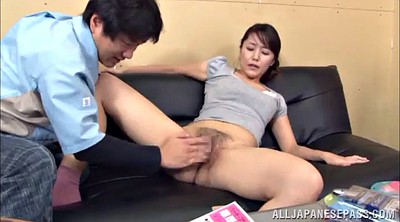 Asian threesome, Pussy licking, Mmf, Double licking