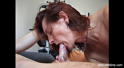 Workout, Granny creampie