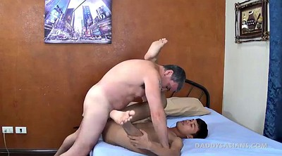 Dad, Old gay, Asian gay, Asian daddy, Asian interracial, Cute asian