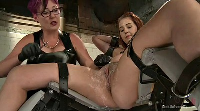 Shaved, Gynecology, Latex bondage, Latex bdsm, Bdsm mature