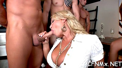 Cfnm, Hot mature, Hard bang