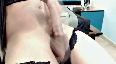 Tranny solo, Shemale webcam