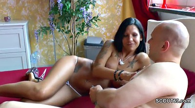 Milf anal, Young boy, Private, Milf boy, German anal