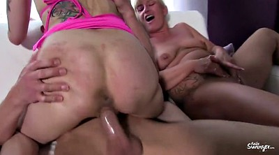German swinger, Threesom, Mature swinger