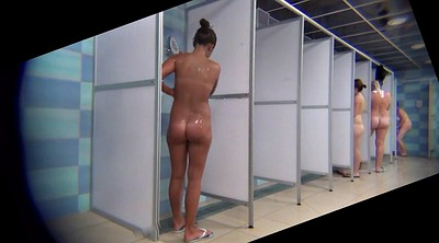 Amateur, Hidden shower, Peep, Peeping, Voyeur shower, The beauty