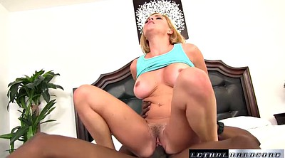 Hairy blonde, Hairy interracial, Stretched pussy, Ebony pussy