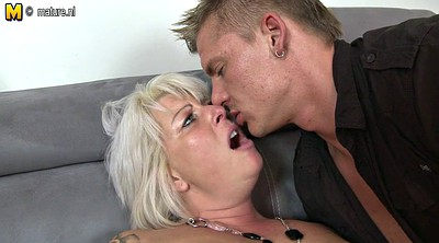 Amateur wife, Young boy, Mom boy