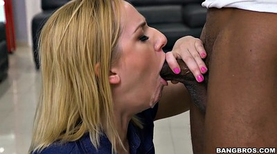 Kate england, Big black cock, Cigarette, Smoking blowjob, Clothed