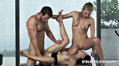 Wife threesome, Face sitting, Sasha blond, Russian anal