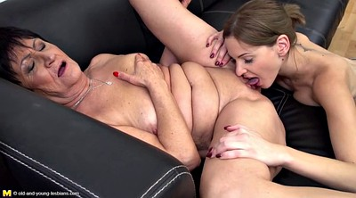 Eating pussy, Old young, Lesbians mature