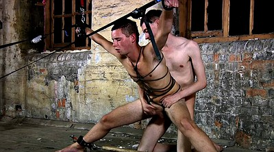 Slave, Spanked, Gay bound