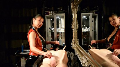 Mistress, Leather, Asian bdsm, mistress t, Asian slave