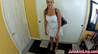 Cosplay, Nurse, Julia, Julia ann, Milf anne, Exam