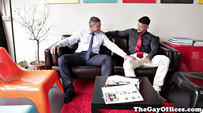 Muscle hunk, Gay office, Buff