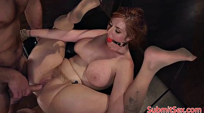 Gagging, Busty, Submissive, Rough anal, Submissive anal, Submission