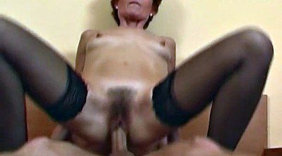 Grandma, Grandma fuck, Mature stocking