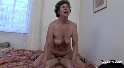 Mother, Trap, Stepson, Trapped, Mother ass, German anal
