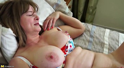 With mom, Moms pussy