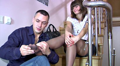 Pantyhose foot, Pantyhose feet, Foot job, Black pantyhose