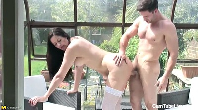 Hot mom, Mom sex, Mature gangbang