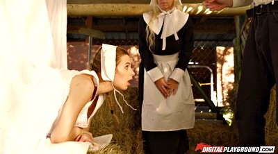 Creampie teen, Amish