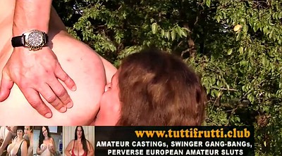 Porn, Public anal, Anal casting