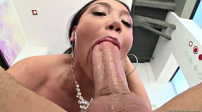 Monster, Mike adriano, Vicky, Throated, Deep throat