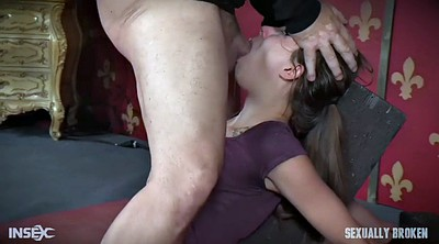 Gag, Tied, Zoey, Deep fist, Deep fisting, Blindfold