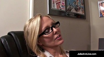Julia, Julia ann, Milf anne, Mature facial
