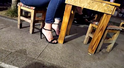 Heels, Teen heels, Hidden cam, High, High heels