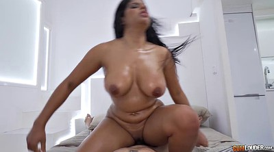 Pov riding, Latina blowjob pov