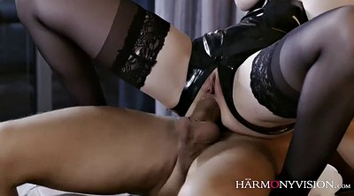 Cox, Chubby anal, Blindfold, Blindfolded, Latex anal