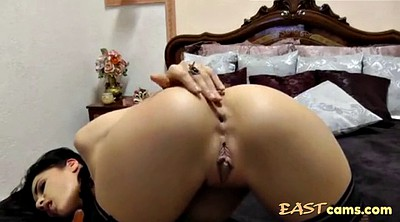 Asian webcams, Masturbating, Anal amateur