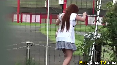 Peeing, Spying, Japanese public, Japanese outdoor