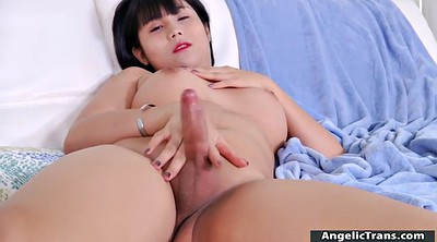 Asian solo, Asian shemale solo