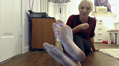 Jessica, Solo feet, Dirty feet