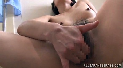 Hairy solo, Asian pornstar