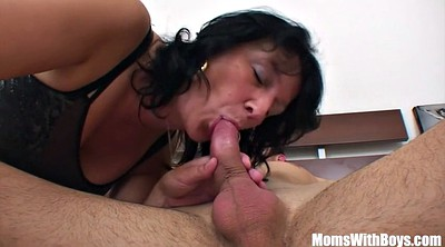 Mature creampie, Early