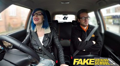 Fake, Fake school, Driving school, School anal, School sex, Fake creampie
